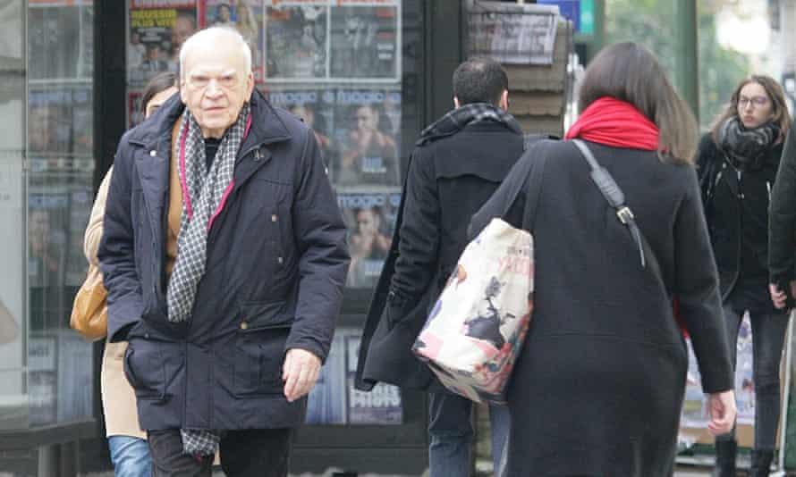 Milan Kundera sighted in Paris in October.