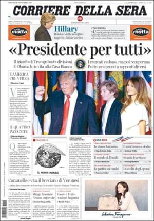 Corriere Della Sera, Italy