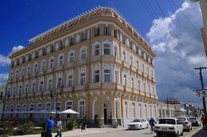 The 84-room Hotel Encanto Sagua reopened last year.