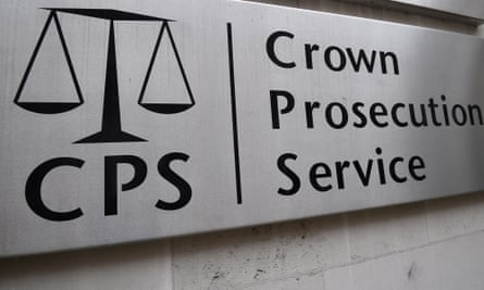 Crown Prosecution Service sign