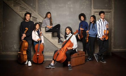 The Kanneh-Mason family - at the Barbican for the first London concert together,