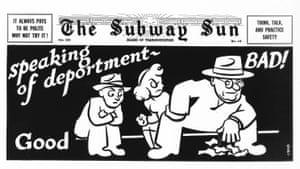 The Subway Sun 1947. Artist: Amelia Opdyke Jones