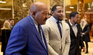 Jim Brown, Ray Lewis and pastor Darrell Scott