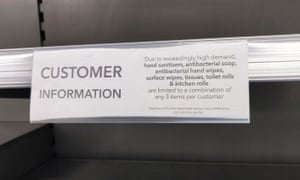 There has been anecdotal evidence of verbal abuse against supermarket staff by shoppers complaining about empty selves amid the coronavirus epidemic.