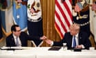 Trump administration sent $1.4bn in stimulus checks to dead people - live thumbnail