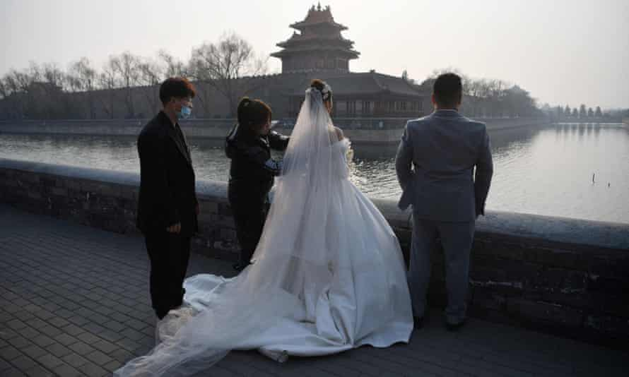 A wedding in China.