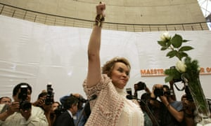 The release of former teaching union boss Elba Esther Gordillo has raised suspicions in Mexico.