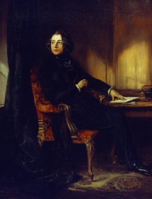 Daniel Maclise's portrait of a young Dickens