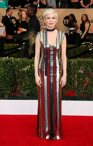 Michelle Williams at the Screen Actors Guild awards