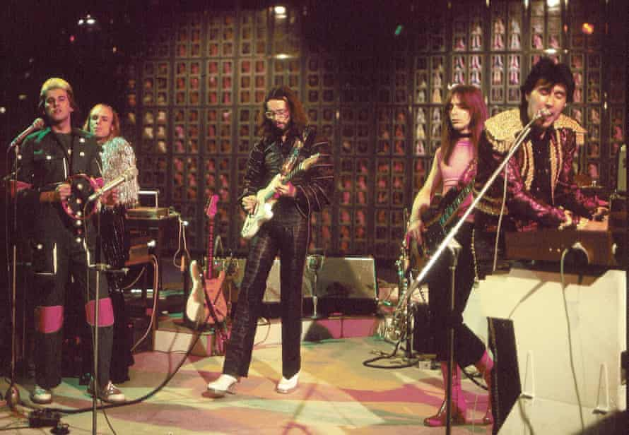 Roxy Music on Top of the Pops, 1971