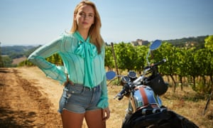 Villanelle, the glamorous assassin in Luke Jennings' thriller No Tomorrow, played by Jodie Comer in Killing Eve, a TV adaptation of the book.