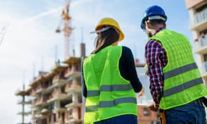 When I joined my father on the building site, I saw a different side