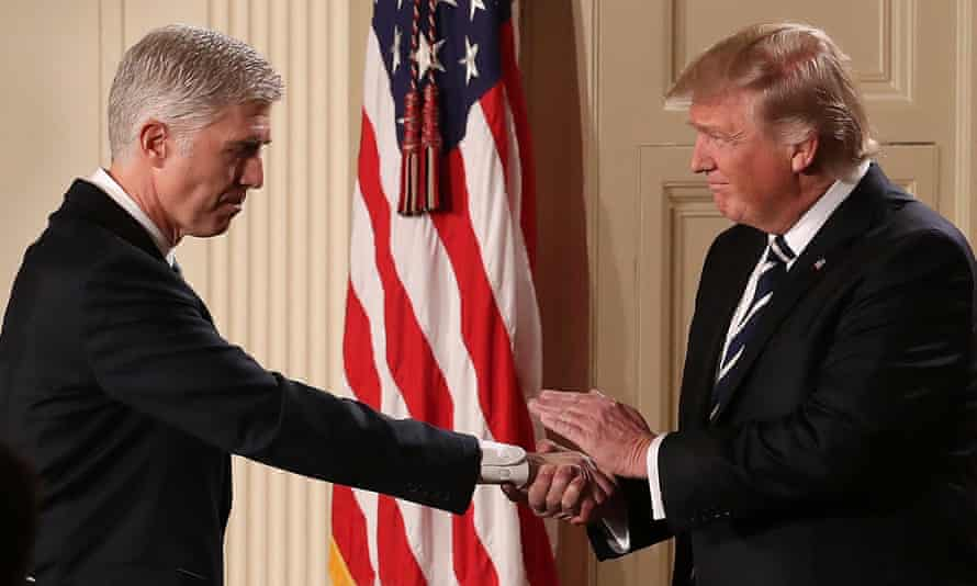 Donald Trump nominated Neil Gorsuch to the supreme court – but the president's appointments in the lower courts are causing huge concern.