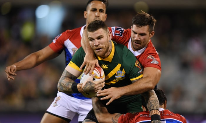 084ef800be8 Australia beat France at Rugby League World Cup – as it happened ...