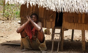 In Sangha forest in Central African Republic, young people of the Ba'aka community, who have few opportunities, often take refuge in the opiate tramadol.