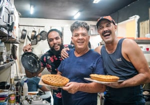 The American Pie Co team photographed in Havana for the Observer Food Monthly's look at how Cuba's artists took to the kitchen to earn their crust during lockdown.