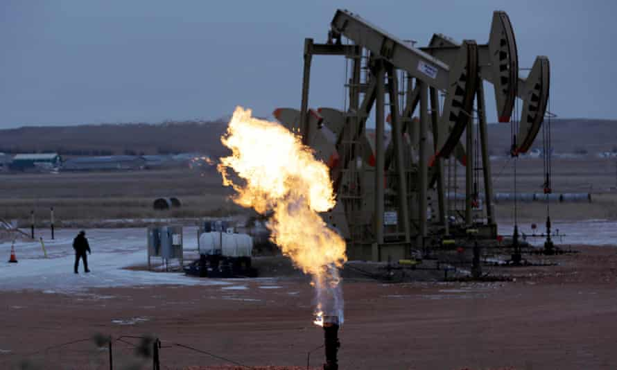 Oil companies are saying they care about the climate crisis but we need to ask: are you still drilling for oil?