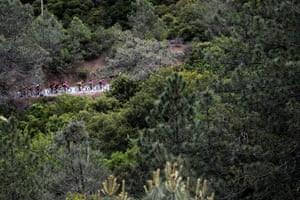 Peloton cyclists compete during the 14th Amgen Tour of California 2019, a 208km stage from Stockton to Morgan Hill