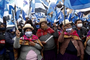 El Alto, BoliviaSupporters of presidential candidate Luis Arce attend his closing campaign rally