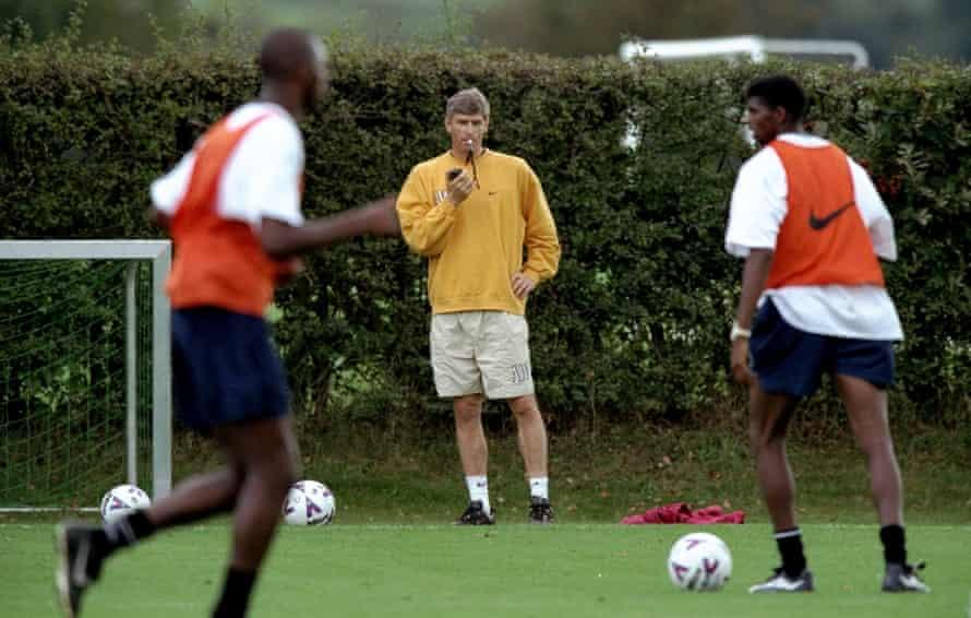 Arsene Wenger in 1999.