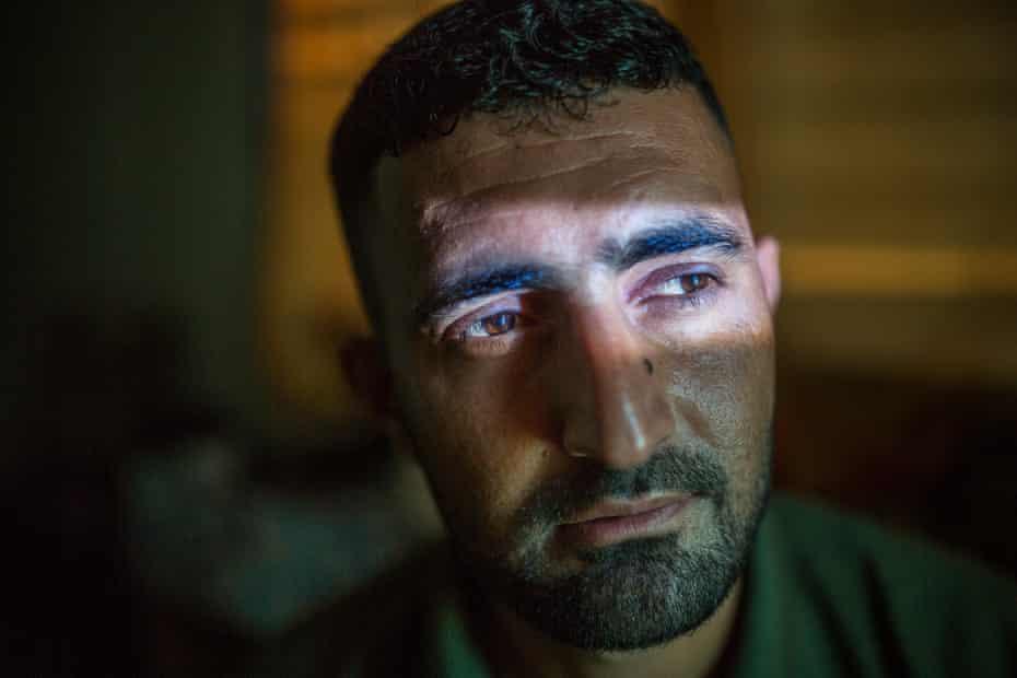 Shabbir Hossein, who has been at Manus Island since 2013.