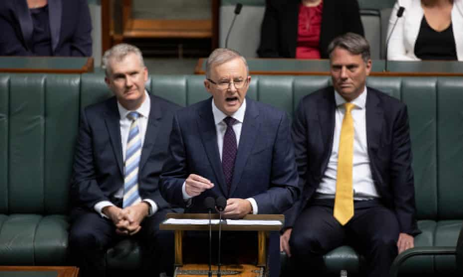 With Covid dominating the political agenda, Anthony Albanese has sought to make Scott Morrison the story