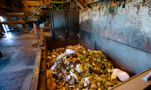 Food waste reprocessed by Veolia