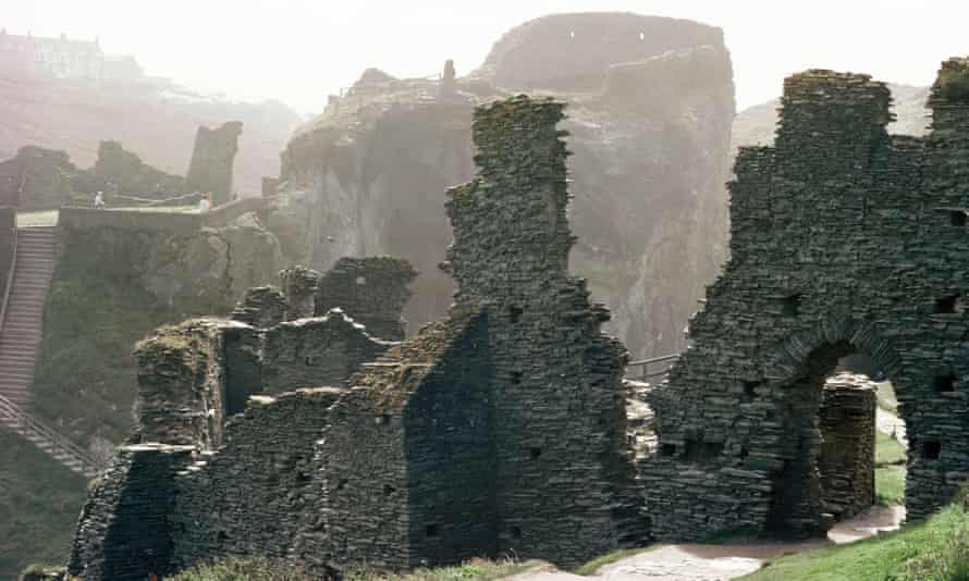 Tintagel Castle attracts 3,000 visitors a day in the peak summer season.