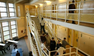 Inside Woodhill Prison, Milton Keynes. Latham would not have been eligible for a transfer to a women's jail.