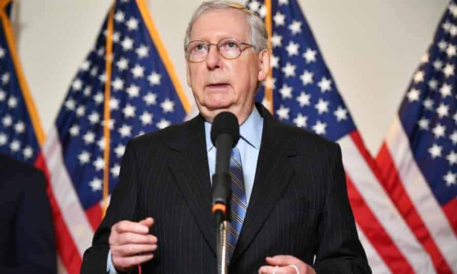 US senate Republican leader Mitch McConnell said Trump's nominee will receive a vote in the Senate despite the November election.