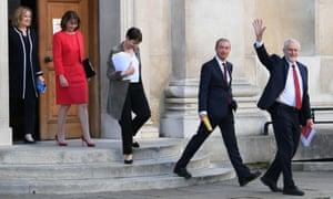 Amber Rudd, Leanne Wood, Caroline Lucas, Tim Farron and Jeremy Corbyn