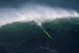 Australian big wave surfer Jamie Mitchell