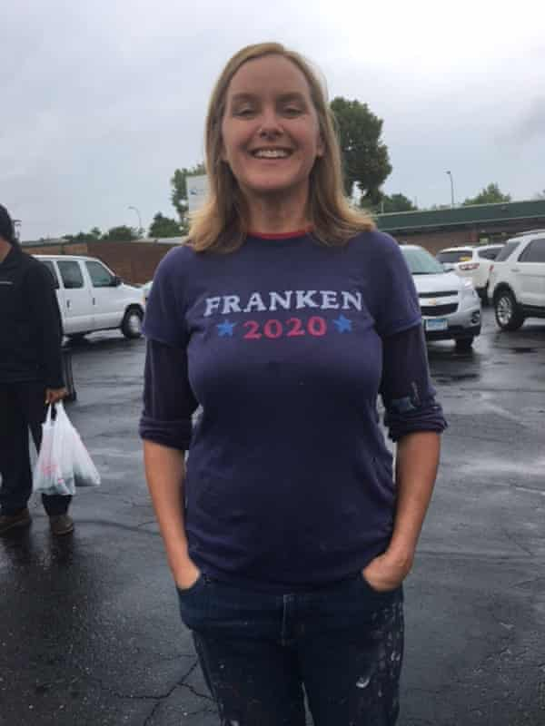 Franken supporter Lisa Kleven: 'There was talk of people worrying that he was a comedian, but he's a good guy with honesty and integrity.'