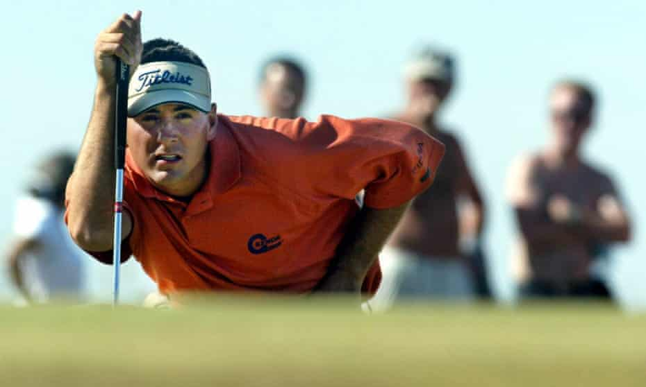 Ben Curtis says his main goal at the 2003 Open was to have fun.