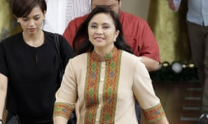 Leni Robredo, the Philippine vice-president.