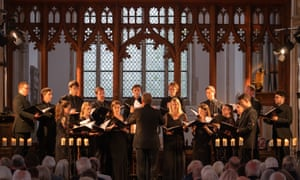 Tenebrae perform at Blythburgh church as part of Aldeburgh festival in June.