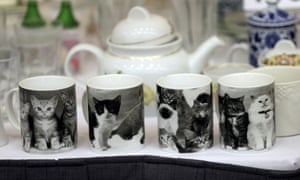 A selection of cat mugs are among items belonging to James 'Whitey' Bulger and Catherine Greig.