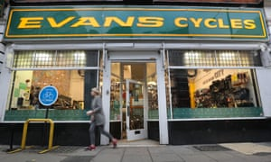 Evans Cycles store