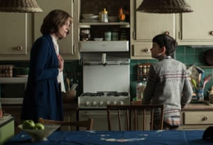 Actor Sigourney Weaver in the film A Monster Calls