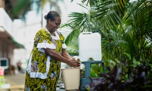 Vanuatu has introduced strict measures to try and protect the country from coronavirus, including requiring all businesses to set up hand-washing stations.