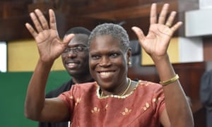 Simone Gbagbo pictured in 2016