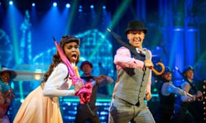 Hit for six … Mabuse partnering cricketer Graeme Swann on the last series of Strictly Come Dancing.
