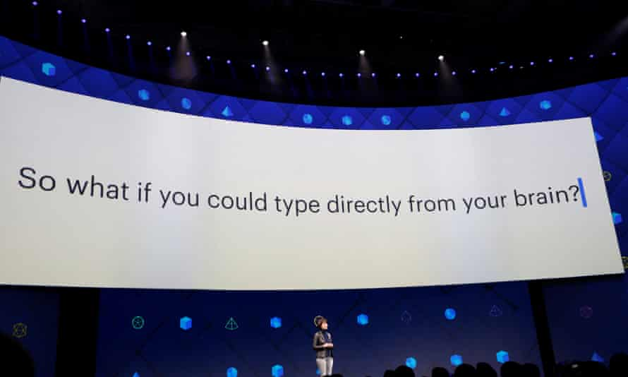 Regina Dugan, head of Facebook's hardware innovation division Building 8, speaks at the company's annual developer conference.