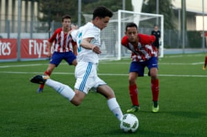 Real Madrid's Cadete B team – their Under 15s – take on local rivals Atlético.