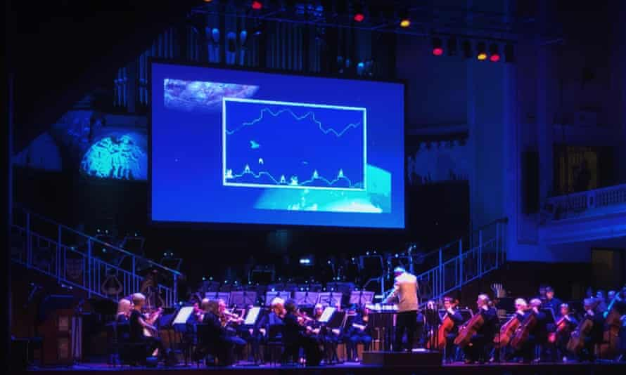 The Hull Philharmonic Orchestra, led by conductor Robert Tait.