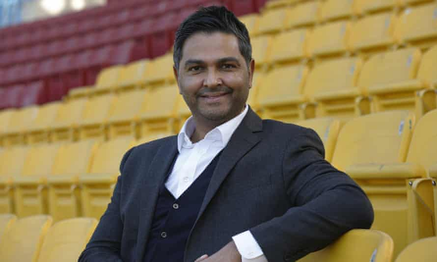 Wasim Khan, the Birmingham-born chief executive of the Pakistan Cricket Board. Pakistan host South Africa this month, with England arriving in October.
