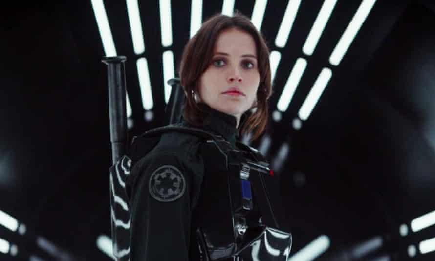 Felicity Jones as Jyn Erso in Rogue One.