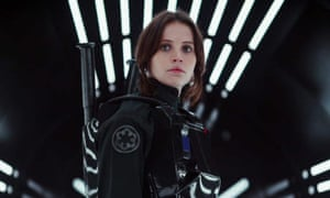 Rogue trader ... Felicity Jones as the rebel at the heart of Rogue One: A Star Wars Story.