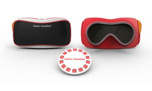 The View-Master virtual-reality viewer.