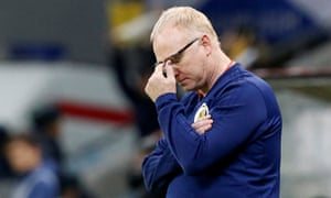 Alex McLeish: 'We have to believe the group stage is going to have twists and turns. We know there's a clear favourite but we think there will be blips along the way.'
